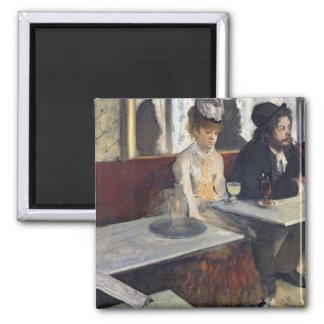 Aimant Edgar Degas | dans un café, ou l'absinthe