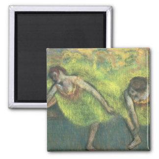 Aimant Edgar Degas | détente de deux danseurs