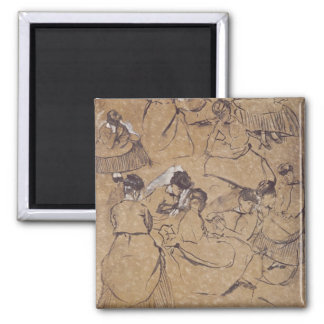 Aimant Edgar Degas | douze études des femmes dans le