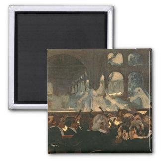 Aimant Edgar Degas | la scène de ballet, l'opéra de