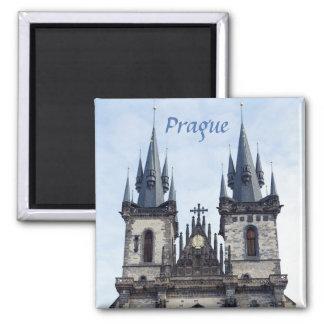 Aimant Église de Tyn en photo de souvenir de Prague