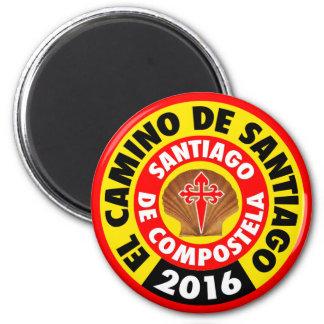 Aimant EL Camino De Santiago 2016