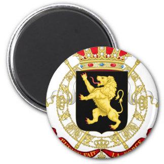 Aimant Emblème belge - manteau des bras de la Belgique