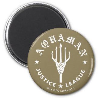 Aimant Emblème de la ligue de justice rétro Trident  
