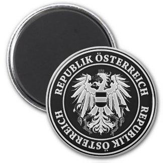 Aimant Emblème rond de l'Autriche