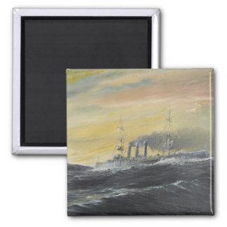 Aimant Emden monte l'Océan Indien 1914 2011 de vagues