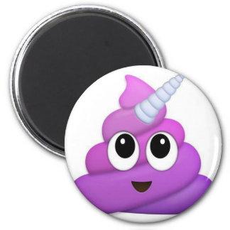 Aimant Emoji mignon de dunette de licorne