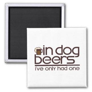 Aimant En bières de chien….