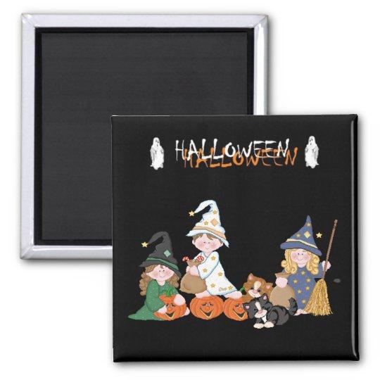 Aimant Enfants � Halloween -