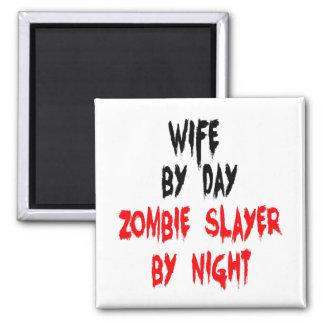 Aimant Épouse de tueur de zombi