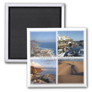 Aimant Es * L'Espagne - mamie Canaria - les Îles Canaries