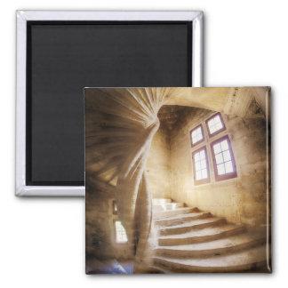 Aimant Escalier beige de spirl, France