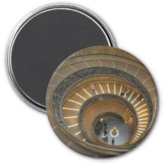 Aimant Escalier de Bramante, musée de Vatican