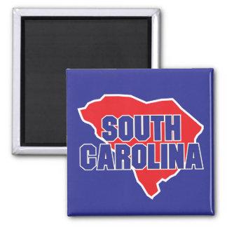 Aimant État de la Caroline du Sud