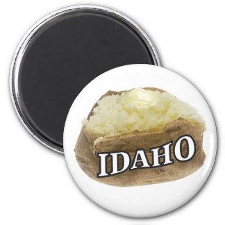 Aimant Étiquette de pomme de terre de l'Idaho