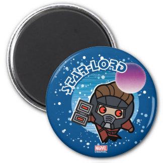 Aimant Étoile-Seigneur In Space de Kawaii