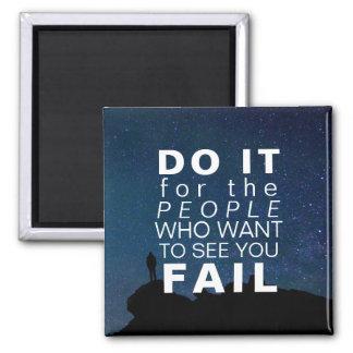 Aimant Étoiles de motivation de succès de citation