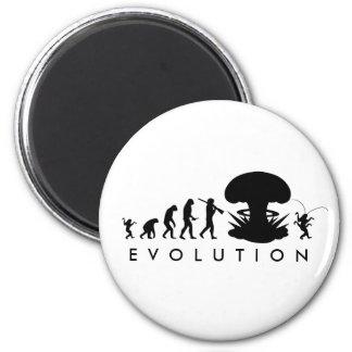 Aimant Évolution de diagramme drôle d'évolution de