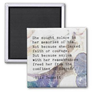 Aimant Expressions poétiques : Consolation