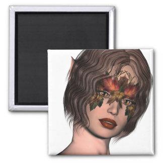 Aimant Faery masqué par automne de KRW