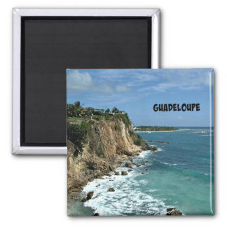 Aimant Falaises en Guadeloupe, marquée