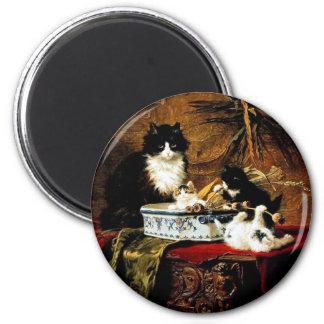 Aimant Famille des chats, Henriëtte Ronner-Knip