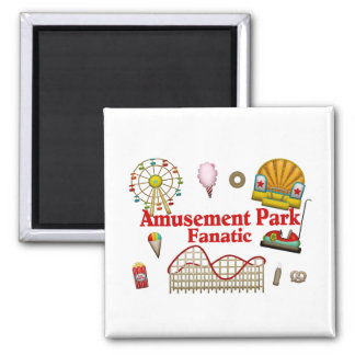Aimant Fanatique de parc d'attractions