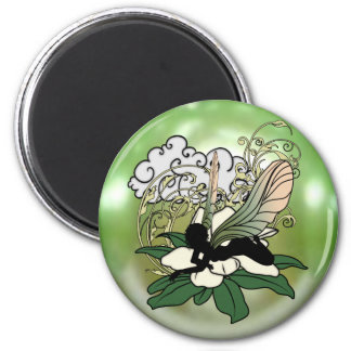 Aimant Fée d'ombre de magnolia
