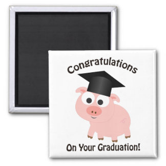 Aimant Félicitations sur votre obtention du diplôme !