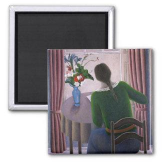 Aimant Femme à la fenêtre 1998