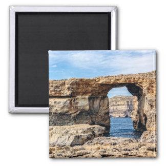 Aimant Fenêtre azurée à Malte