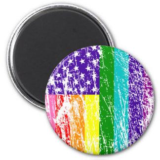 Aimant Fierté de drapeau américain