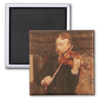 Aimant Fils d'Alma-Tadema | Maurice jouant le violon