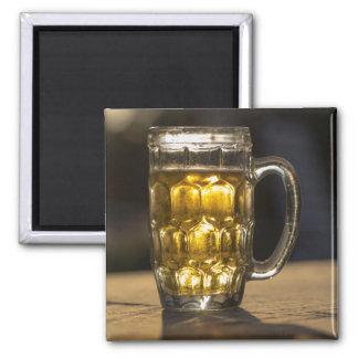 Aimant Fin de boisson en verre de bière, l'Inde