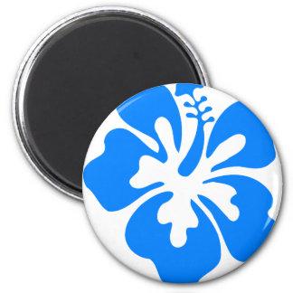 Aimant Fleur bleue de ketmie