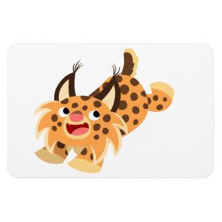 Aimant flexible de chat sauvage Prankish mignon de Magnet