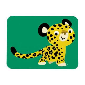 Aimant flexible de léopard amical mignon de bande  magnets