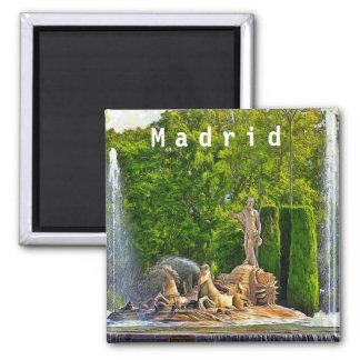 Aimant Fontaine de Neptune à Madrid