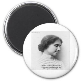 Aimant Force de Helen Keller cadeaux de citation de