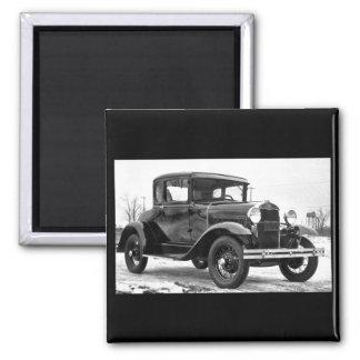 Aimant Ford 1930 modèlent un coupé - B&W