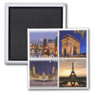 Aimant Franc - La France - Paris