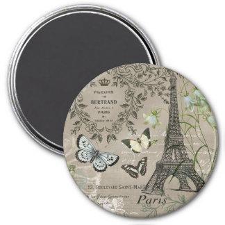 aimant français vintage moderne de Tour Eiffel de