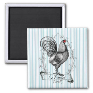 Aimant French Rooster Le Poulet