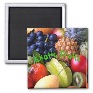 Aimant Fruits exotiques
