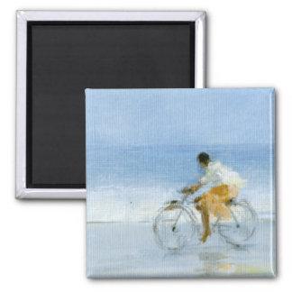 Aimant Garçon sur la bicyclette 2