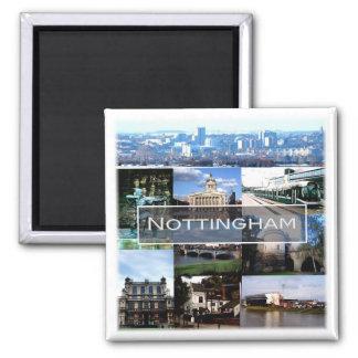 Aimant Gigaoctet * L'Angleterre - la Nottingham