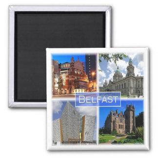 Aimant Gigaoctet * L'Irlande du Nord - Belfast