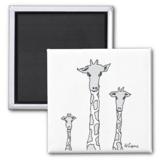 Aimant Girafes