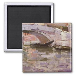 Aimant Gondoles par Sargent, beaux-arts victoriens