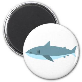 Aimant Grand style de primitif de requin blanc
